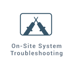 On-Site System Troubleshooting